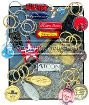 Custom made Overseas Die Struck KeyTags