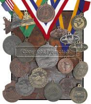 Custom Antique Finish Medallions