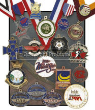 Custom Hand Finish Medals