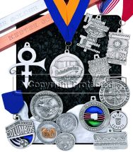 Custom Pewter Medallions