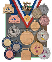 Custom Bright Finish Medallions