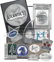 Custom Pewter Plaque Emblems