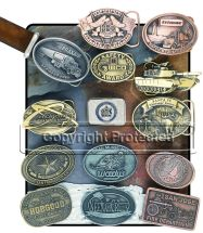 Custom Zinc Belt Buckles