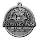 Example of 10K Participant medal