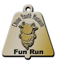 Sample Running Marathon Finisher medallion