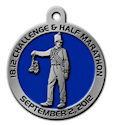 Drawing of 5K Participant medal