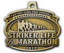 Example of 5K Medal