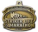 Example of Half Marathon Medallion