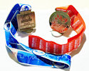 Example of Ultramarathon Finisher medallion