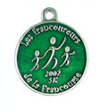 Sample Running Event Medallion