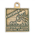 Sample Running Event Participant medal