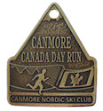 Example of 26.2 Finisher medallion