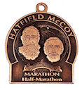 Example of Running Marathon Medallion