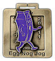 Sample 10K Finisher medallion