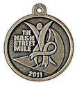 Sample Running Marathon Medal