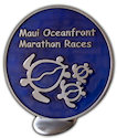 Sample Triathlon Finisher medallion