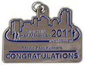 Drawing of Running Marathon Finisher medallion