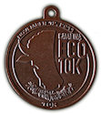 Example of Running Event Participant medal