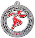 Sample 5K Finisher medallion