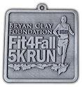 Photo of 10K Finisher medallion