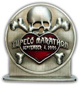 Drawing of Half Marathon Medallion