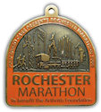 Sample Ultramarathon Finisher medallion