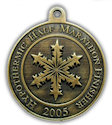 Example of 5K Finisher medallion