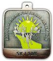 Sample Running Event Medallion