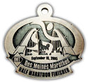 Drawing of Half Marathon Medal
