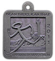 Drawing of Ultramarathon Medal
