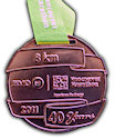 Example of Running Event Medal
