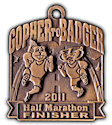 Sample Half Marathon Medallion