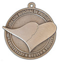 Drawing of Charity Event Participant medal