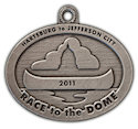 Drawing of Ironman Participant medal