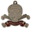 Example of Triathlon Finisher medallion