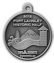 Drawing of 26.2 Medallion