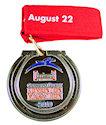 Example of Running Marathon Medal