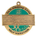 Drawing of Marathon Medal