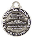Drawing of Running Event Participant medal