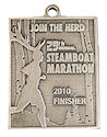 Drawing of Triathlon Finisher medallion