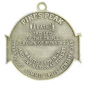 Example of Triathlon Participant medal
