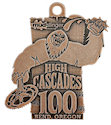 Example of Running Event Finisher medallion