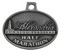 Sample Running Event Finisher medallion