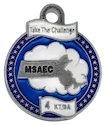 Photo of Ironman Finisher medallion