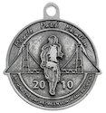 Sample Marathon Finisher medallion