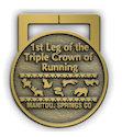 Sample Ultramarathon Medallion