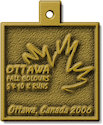 Example of Charity Event Participant medal