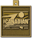 Sample 5K Finisher medallion