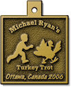 Sample Half Marathon Finisher medallion