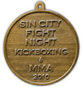 Sample Charity Participant medal